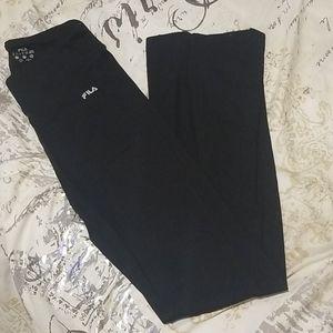 Fila black tights